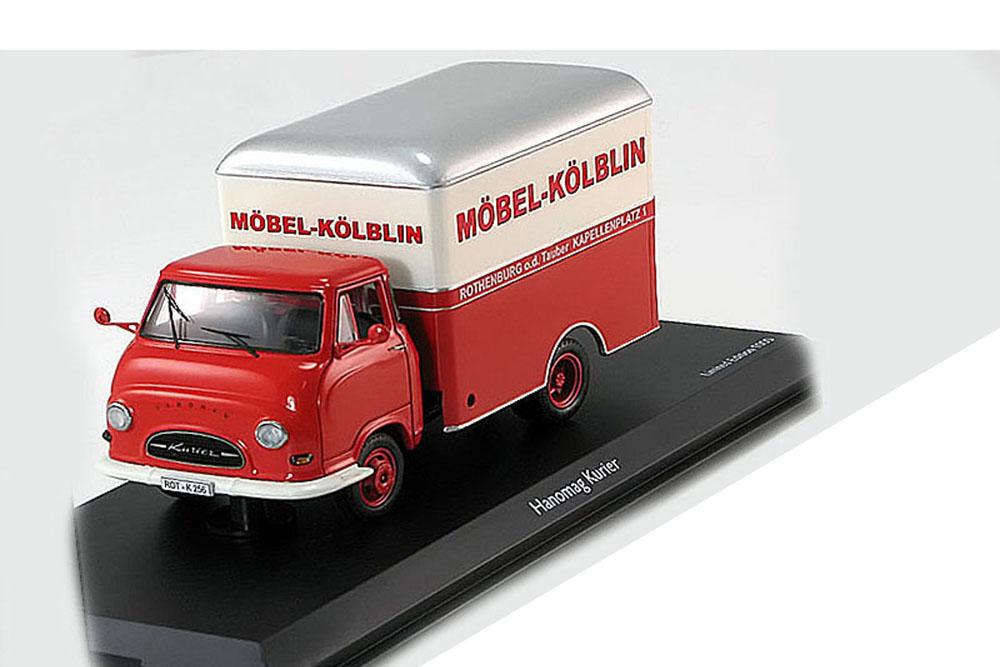 hanomag kurier mobel koblin 1960 modellisimo com scale. Black Bedroom Furniture Sets. Home Design Ideas