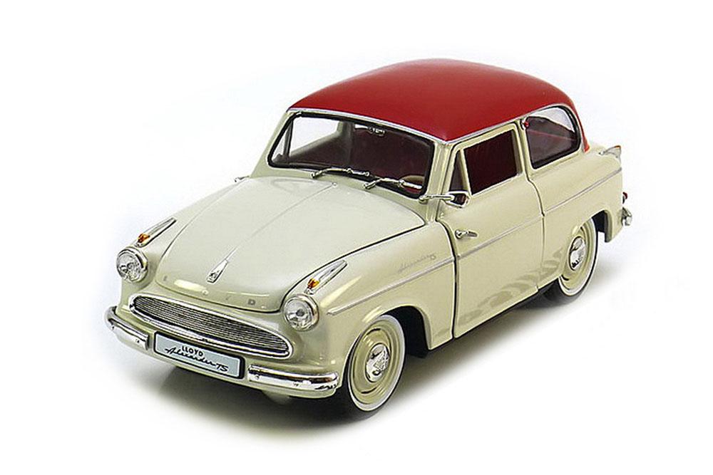 Revell 084639091 1 18 Lloyd Alexander TS 1957 White Red