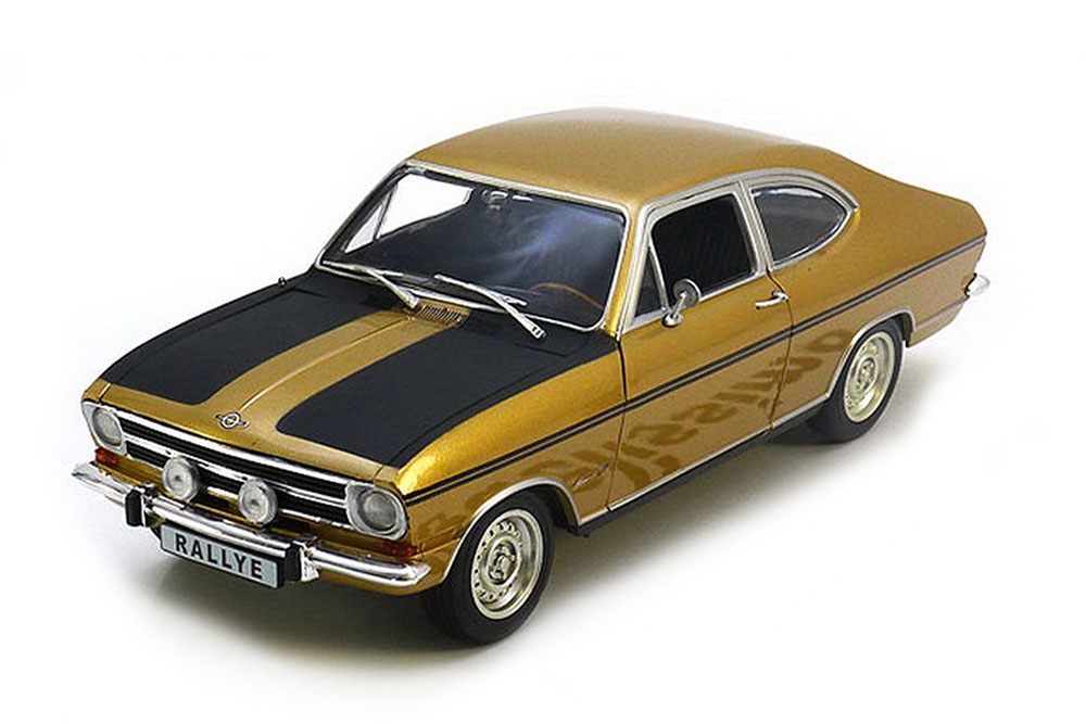 Revell 08467 1 18 Opel Kadett B Rally 1965 Coupe oroen negro