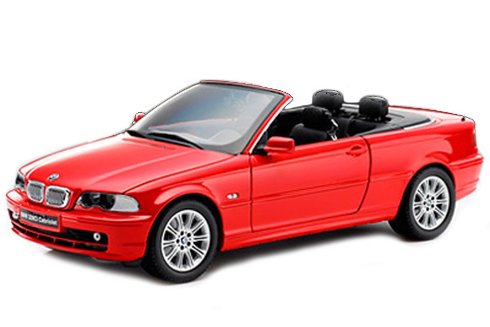 Kyosho 08504R 1 18 BMW E46 328I Convertible 1999  rouge  les clients d'abord