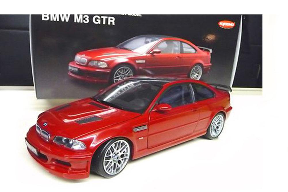 Kyosho 08507R 1 18 BMW E46 M3 GTR STREET 2001 rot