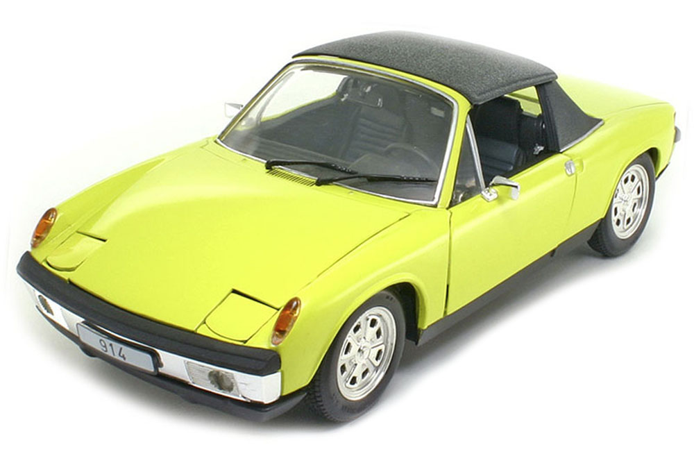 revell 08976 1 18 porsche 914 1972 yellow ebay. Black Bedroom Furniture Sets. Home Design Ideas