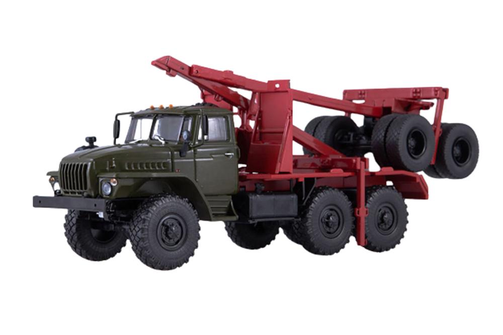 en stock Autohistory 101449 1 43 Ural 43204 10 forestal con con con un remolque rospuskom (URSS RU  el precio más bajo
