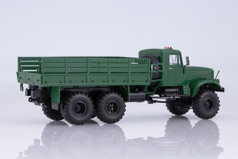 Scale model truck diecast 1:43 KrAZ-255B1