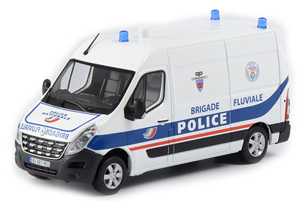 Eligor 115030 1 1 1 43 RENAULT MASTER POLICE BRIGADE FLUVIALE 2014 b70fb3