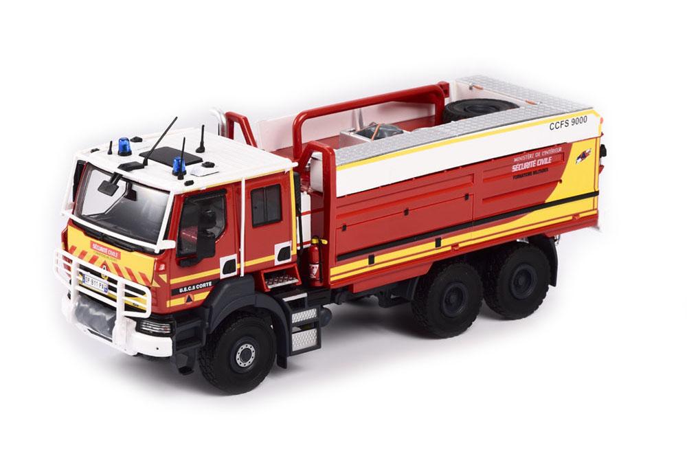 ELIGOR 115938 1 43 Renault Kerax 6x6 CCFS 9000 sécurité civile CORSE (Firefighte
