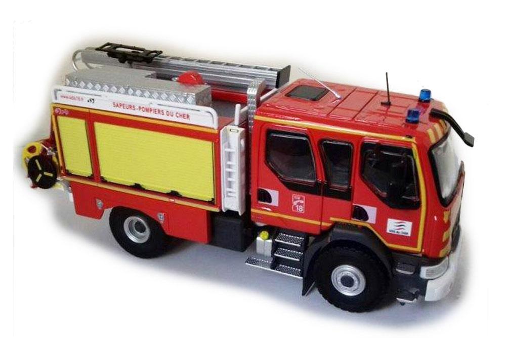 Eligor 116108 1 43 RENAULT D14 4X4 CCR GALLIN SDIS 18 (FIRE) 2018 (ELIGOR CLUB)