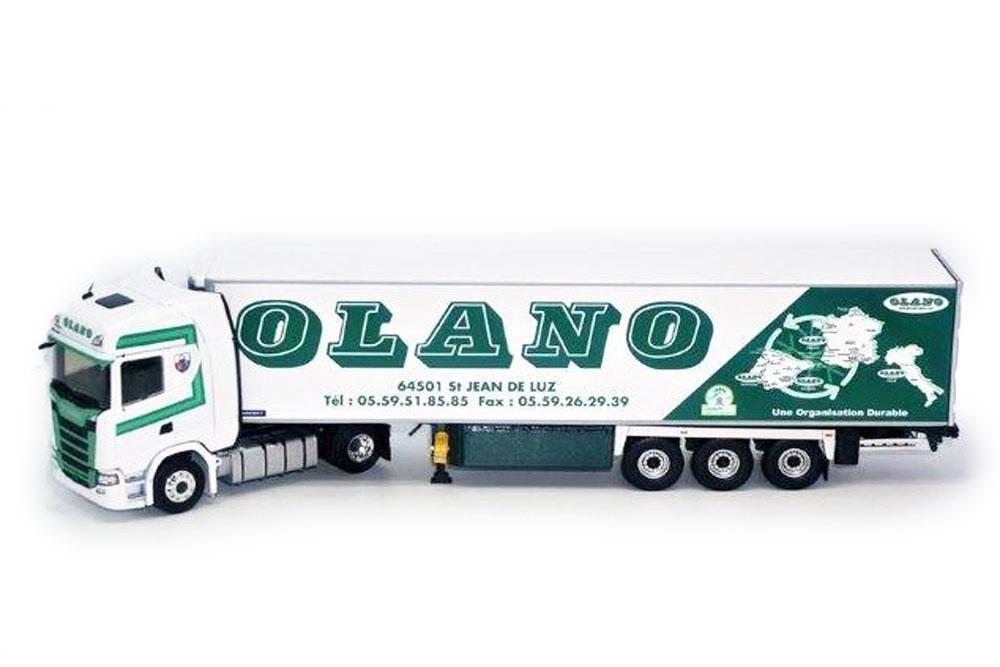 ELIGOR 116398 1 43 SCANIA s450 with LAMBERET Olano 2018 semi-remorques