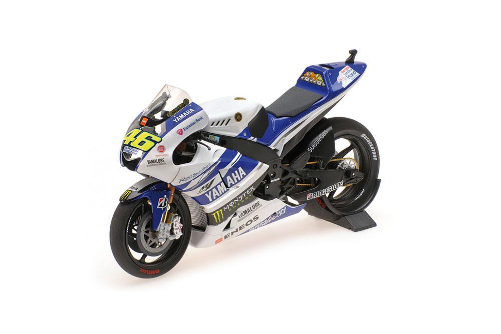 saludable Minichamps 122143946 1 12 yamaha yzr-m1 Yamaha Factory Racing Racing Racing valentino rosi te  exclusivo