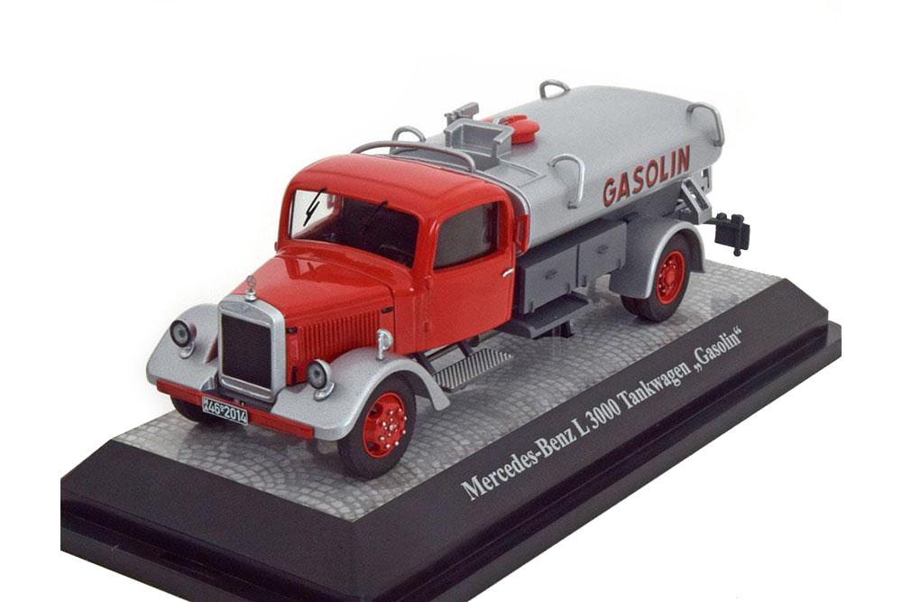¡No dudes! ¡Compra ahora! Premium Premium Premium classixxs 12652 1 43 mercedes l3000 Tank Truck-gasoline 1950  Seleccione de las marcas más nuevas como