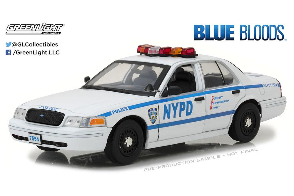 vertlight 13513 1 18 Ford Crown Victoria Police Intercepteur New York City Cy