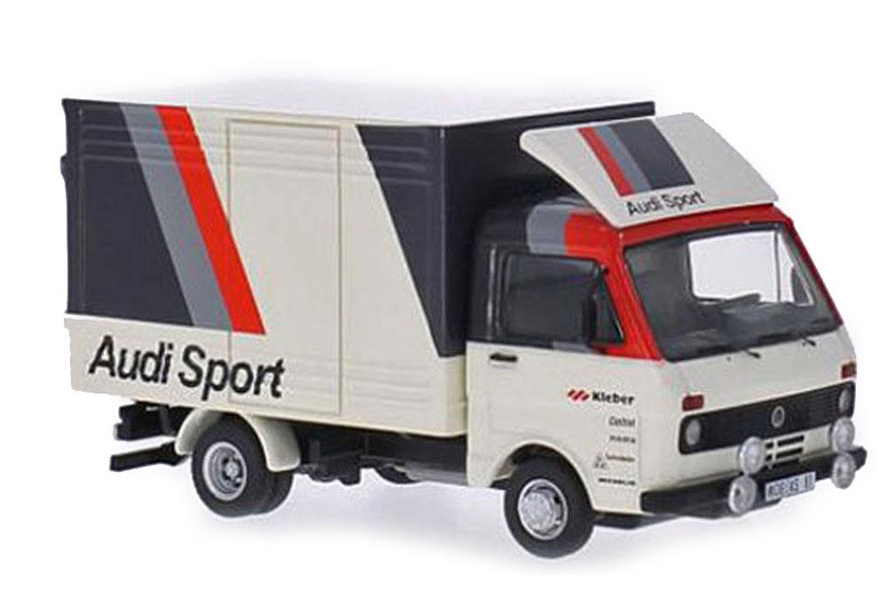 Premium classixxs 13603 1 43 VW Volkswagen LT 28 box audi sport 1986