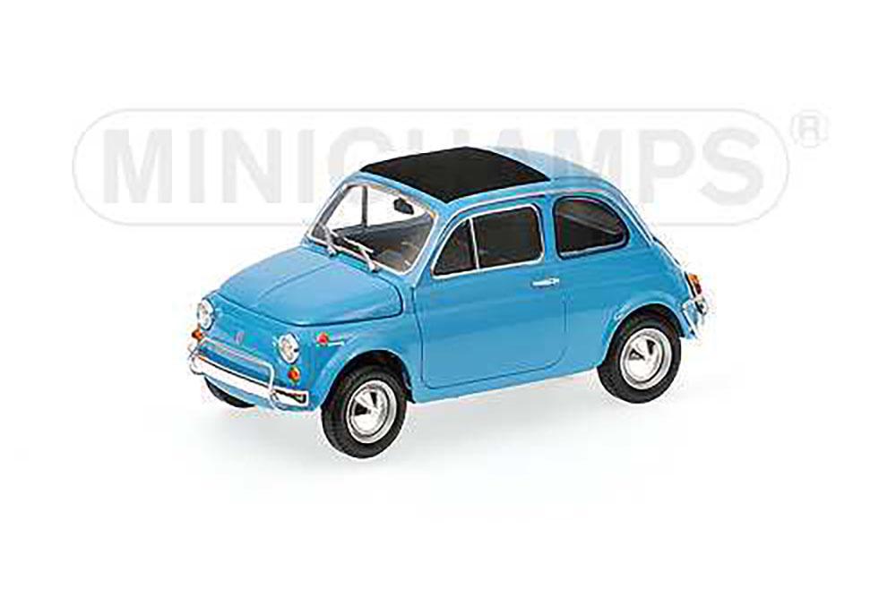 Fiat 500 L 1968 Blue Modellisimo Com Scale Models 1 18 1 43 1