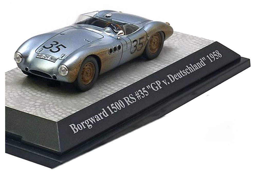 Premium ClassiXXs 18131 1 43 Borgward 1500 RS  35 GP Germany 1958