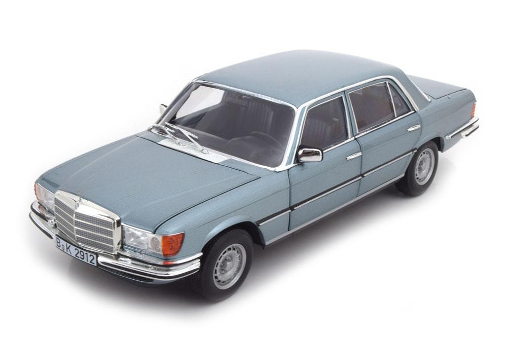 NOREV 183457 1 18 mercedes w116 450 SEL 6.9 1976 bleu gris Metallic