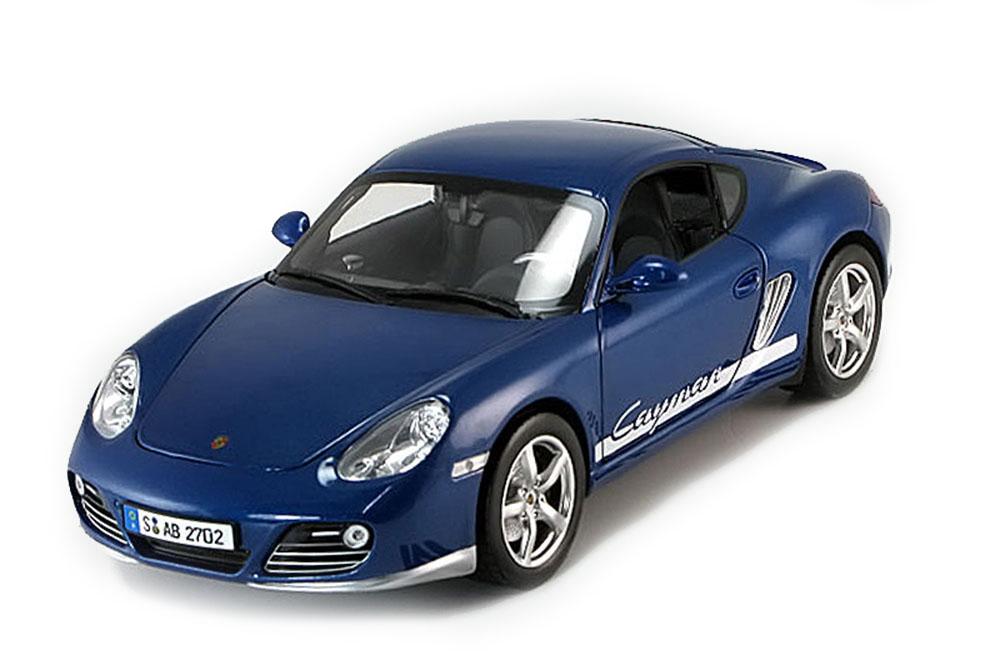 NOREV 187602 1 18 Porsche Cayman 2009 bleu