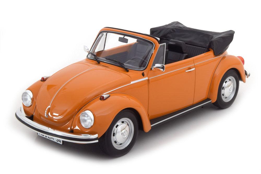 NOREV 188521 1 18 VW Volkswagen 1303 cabriolet 1972 Orange