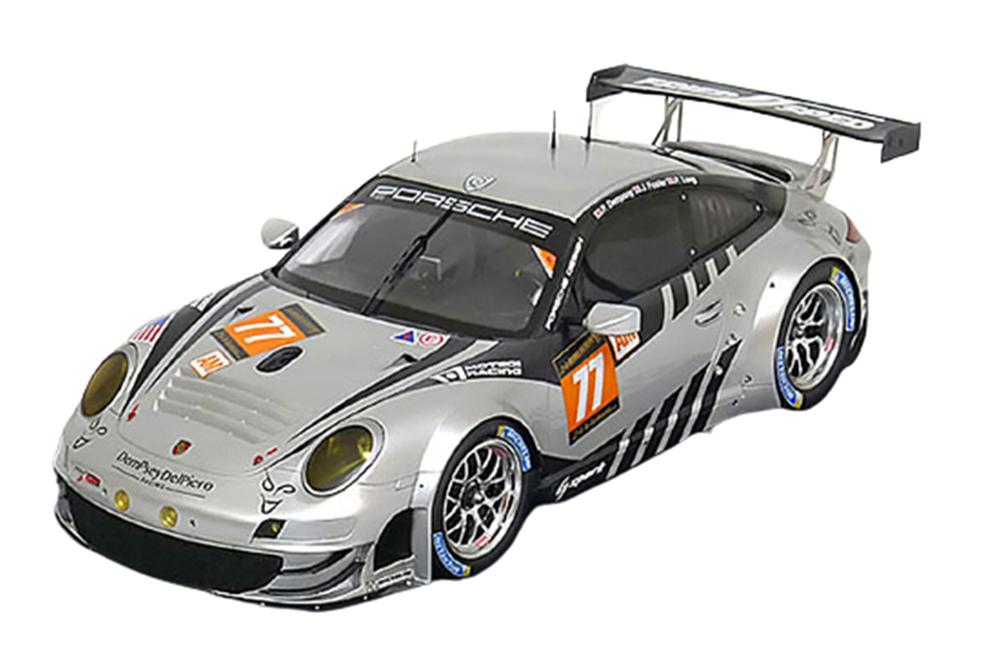 SPARK 18s104 1 18 PORSCHE 911 (997) gt3 rsr  77 Le Mans 2013 Dempsey Foster long
