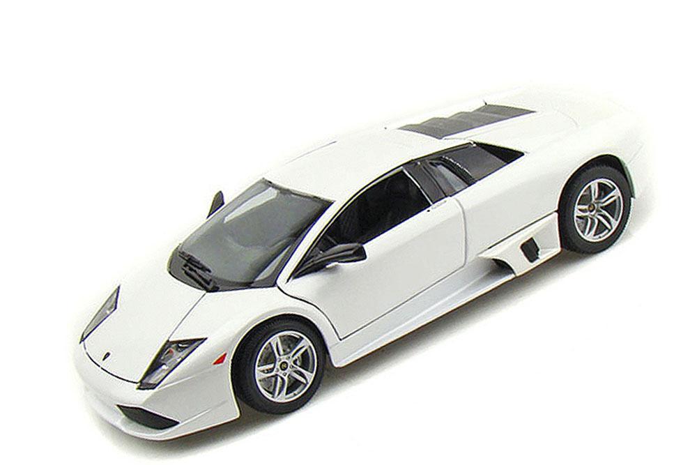 Maisto 31148W 1 18 Lamborghini Murcielago LP640 2007 White