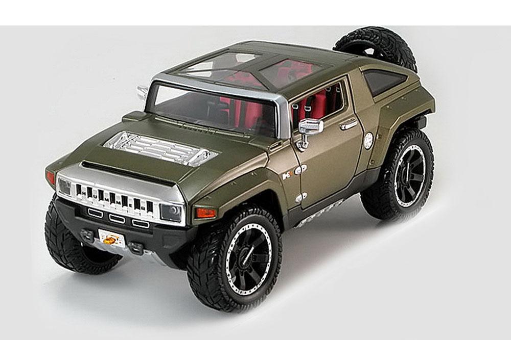 Maisto 36171gr 1 18 Hummer HX Concept 2008 Matt vert
