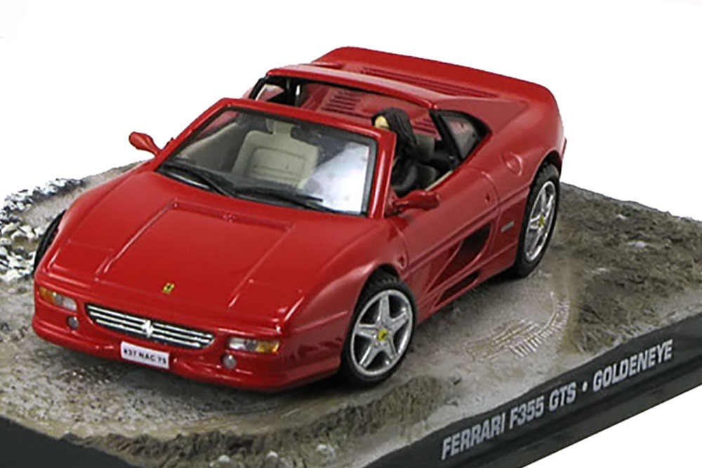 Ferrari F355 Gts James Bond Goldeneye Red Modellisimo Com Scale Models 1 18 1 43 1 12 M O D E L L I S I M O