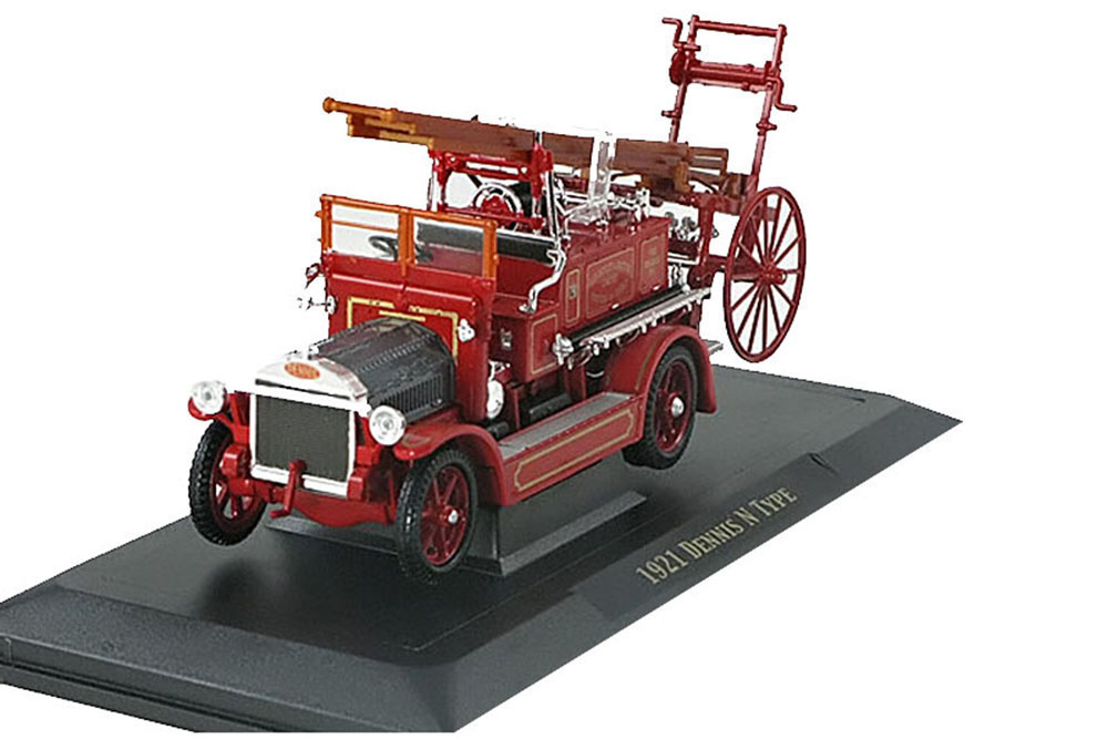 Yat-Ming-Signature-43008R-1-43-DENNIS-N-TYPE-FIRE-TRUCK-1921-RED