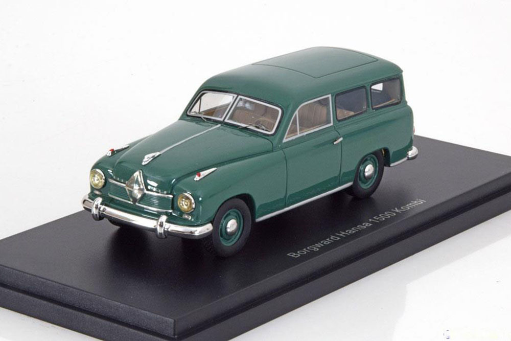 BoS 43050 1 43 BORGWARD HANSA 1500 ESTATE 1951 GREEN