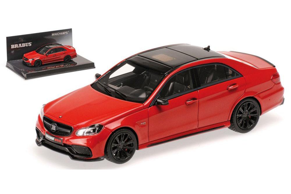 Minichamps 437034100 1 43 mercedes w213 e-class e63 Brabus 850 2015 rosso nero li