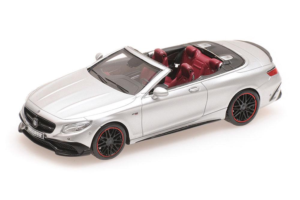 en promociones de estadios Minichamps 437034232 1 43 Mercedes AMG Brabus 850 s 63 63 63 s class cabriolet 2016 si  el mejor servicio post-venta