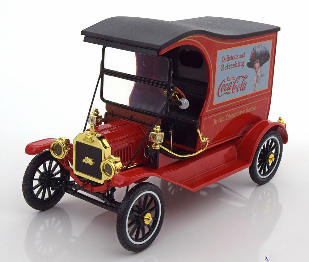 Motor City 449804 1 18 Ford Model T Cargo Van 1917 Coca