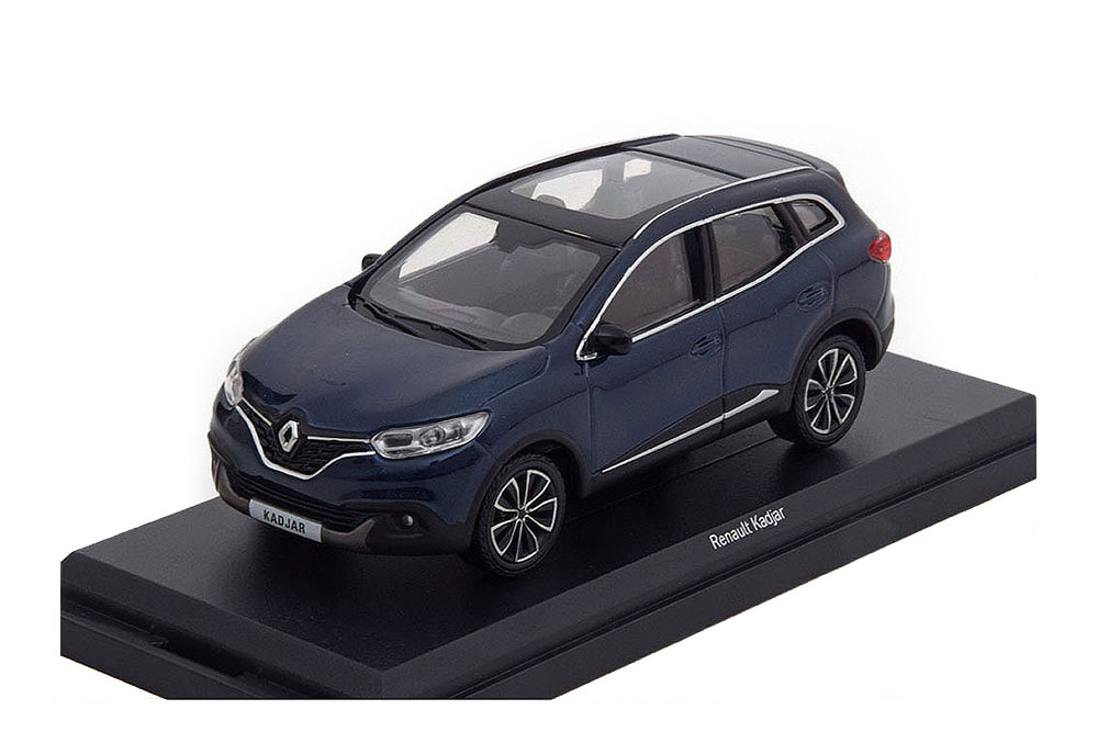 renault kadjar crossover 2015 cosmos blue modellisimo com scale models 1 18 1 43 1 12. Black Bedroom Furniture Sets. Home Design Ideas