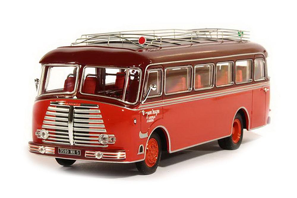 NOREV 521200 1 43 PANHARD k173 les choristes 1949 rouge bordeaux