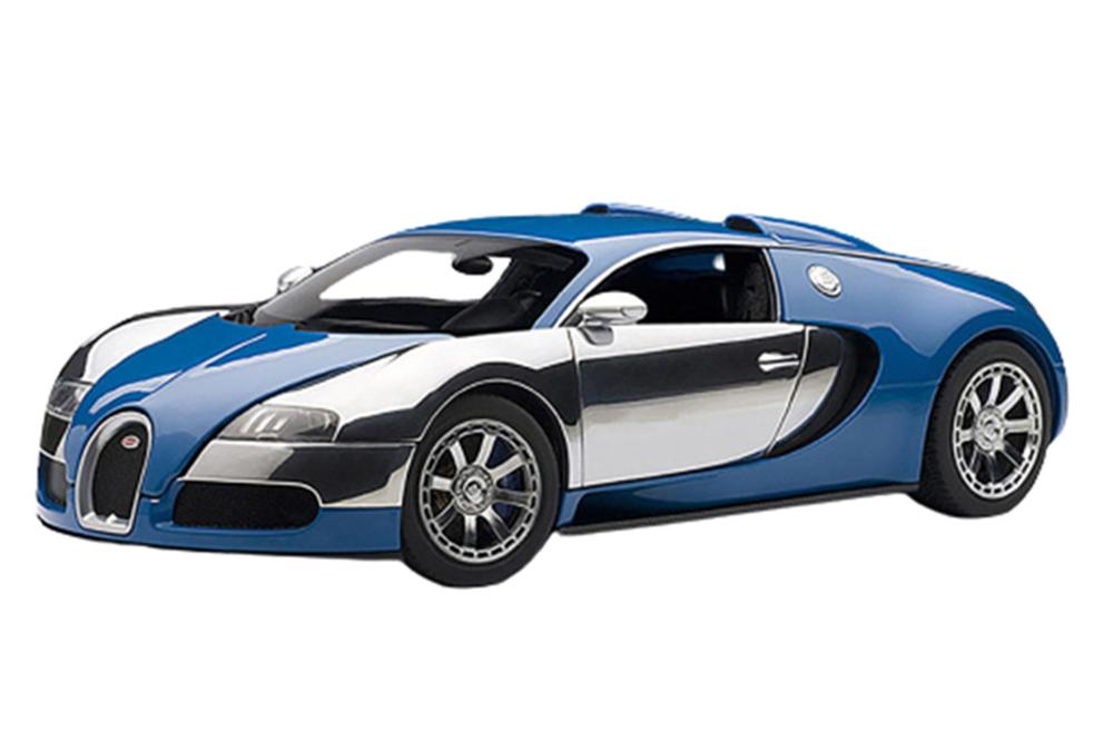 bugatti eb veyron 16 4 l edition centenaire 2009 french blue modellisimo com scale models 1 18. Black Bedroom Furniture Sets. Home Design Ideas