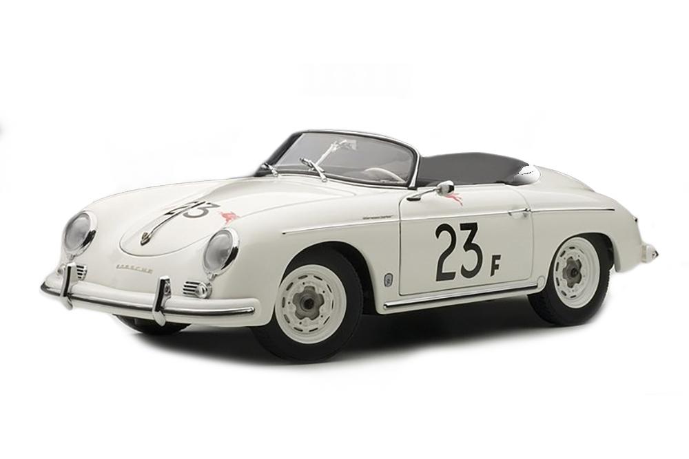 PORSCHE 356 SPEEDSTER 23F WHITE JAMES DEAN