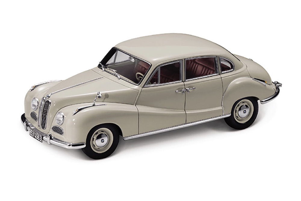 BMW 501 1952 GREY - MODELLISIMO.COM Scale Models 1:18 - 1:43 - 1:12 ...