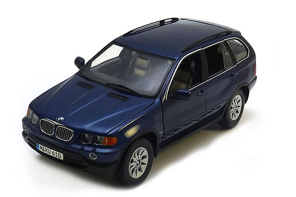KYOSHO 80439411688 1 18 BMW e53 x5 3.0d 2000 bleu  Metallic  magasin en ligne