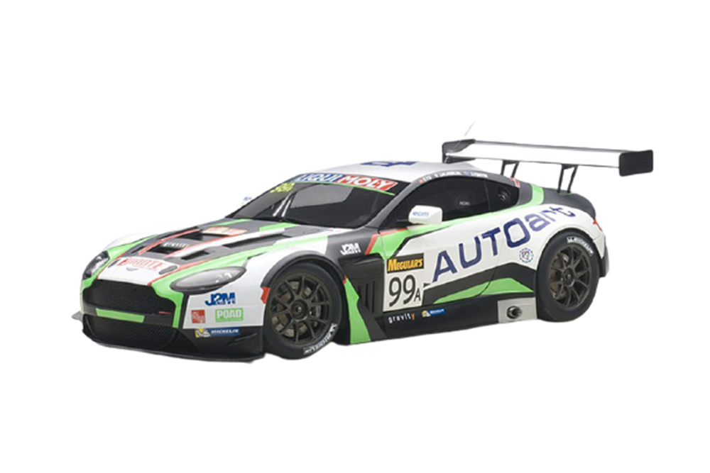 Autoart 81507 1 18 Aston Martin V12 Vantage Bathurst 12 Hour Endurance race 2015