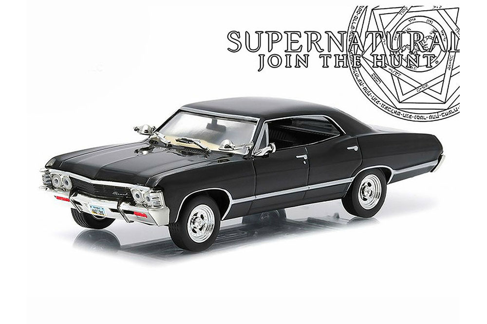 1967 chevrolet impala sport sedan supernatural 1 43. Black Bedroom Furniture Sets. Home Design Ideas