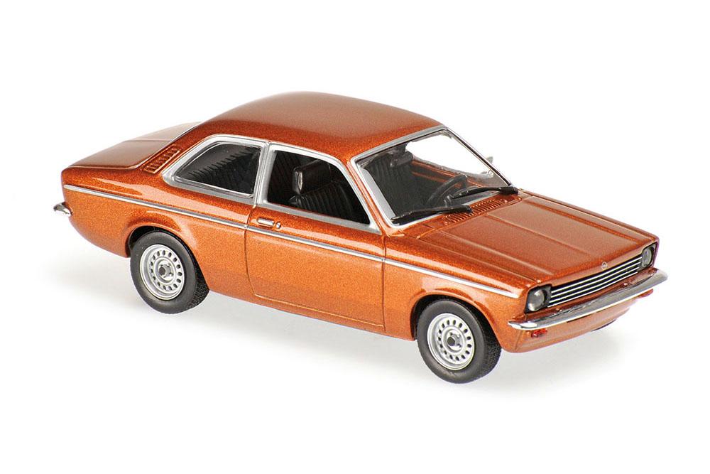 Maxichamps 940045600 1 43 OPEL KADETT C 1974 BROWN BROWN BROWN METALLIC ea893e