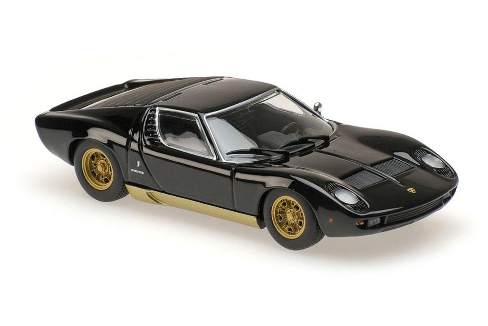 Maxichamps 940103000 1 43 Lamborghini Miura 1966 negro