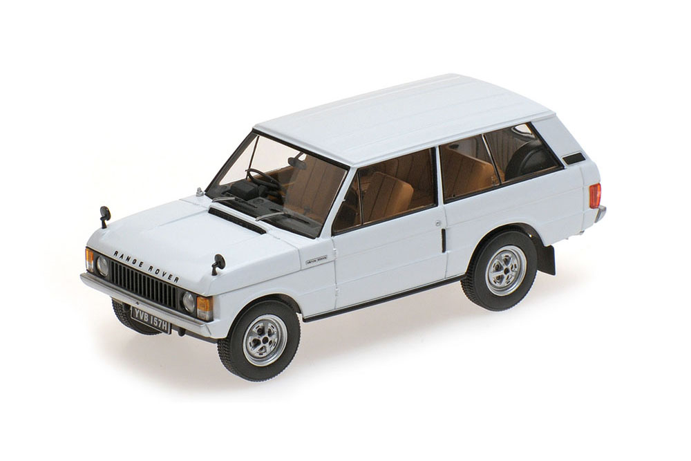 Almost Real ALM410102 1 43 RANGE ROVER 1970 Weiß