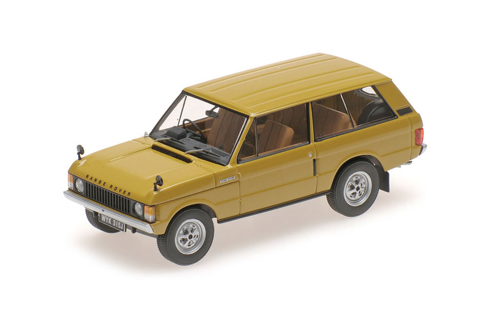 Almost Real ALM410103 1 43 RANGE ROVER 1970 Gelb