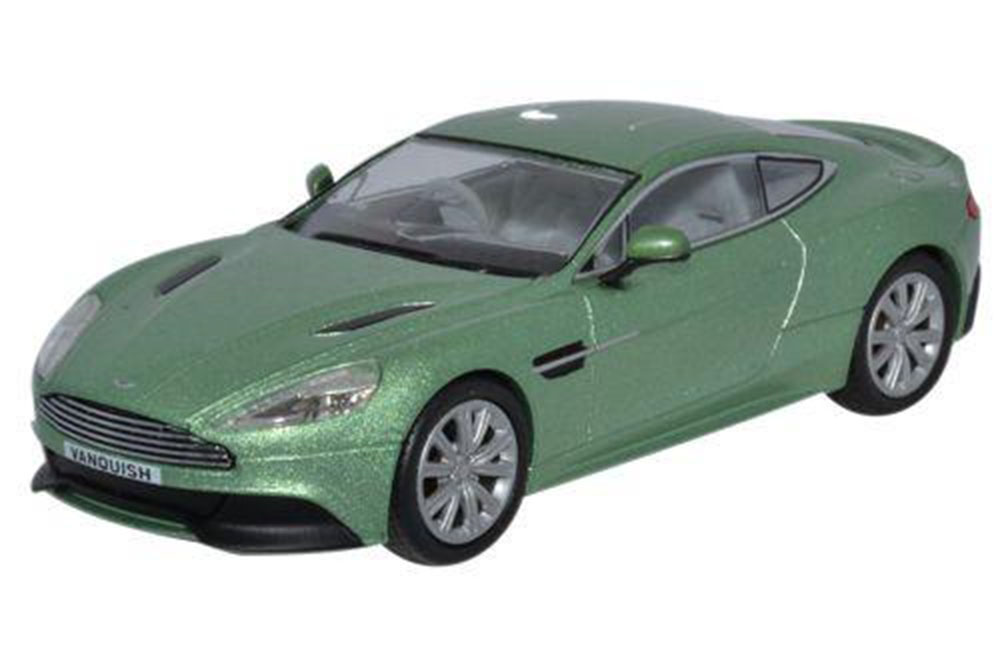 Aston Martin Vanquish Coupe 2012 Appletree Green Modellisimo Com