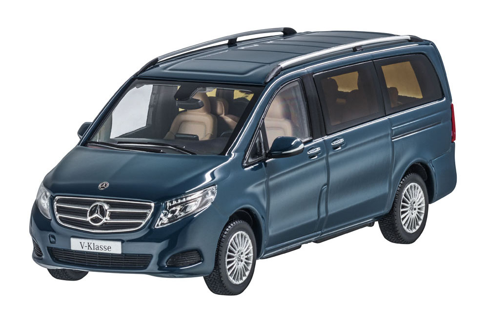 I-Scale b66006014 1 43 Mercedes V-Class 2017 bleu gris