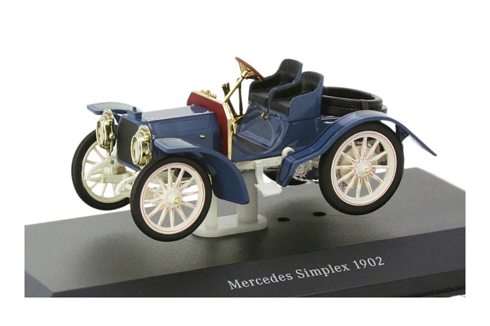 IXO B66040008 1 43 MERCEDES SIMPLEX 40HP BUILT IN 1902 blueE