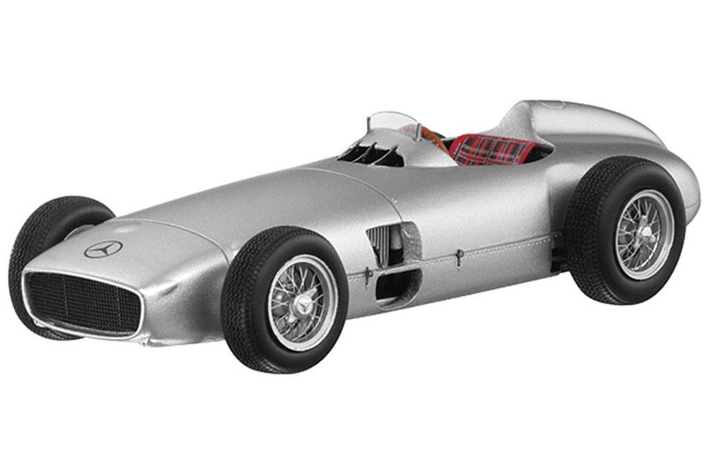 Spark b66040584 1 43 mercedes w196 formula 1 1954 plata