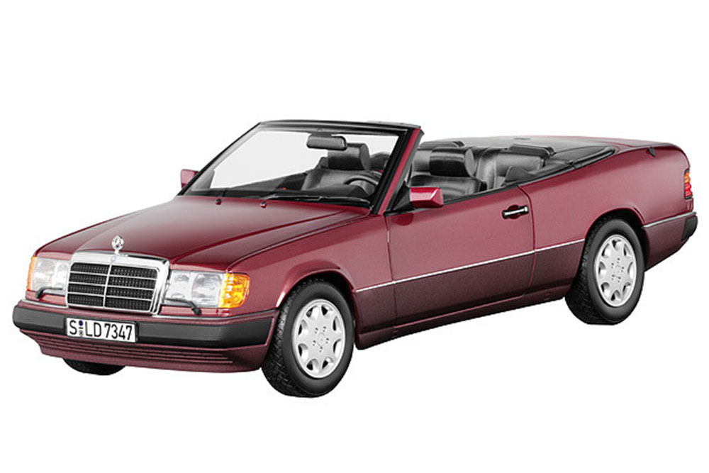 mercedes w124 e class 300ce 24 cabrio convertible 1989 almadin red limited edition 500 pcs. Black Bedroom Furniture Sets. Home Design Ideas