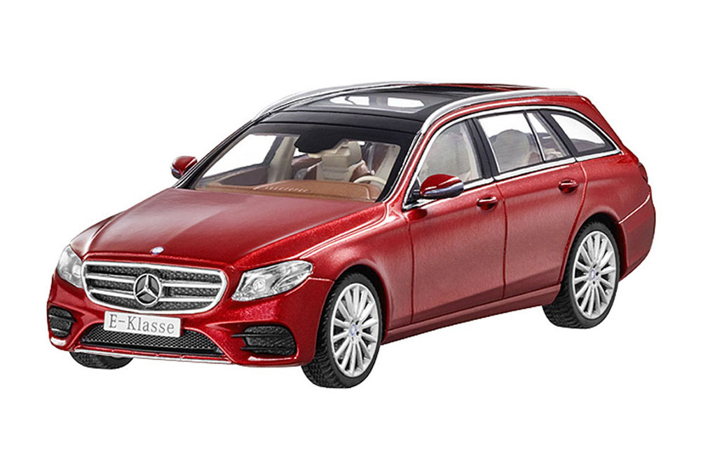 I-Scale B66960382 1 43 MERCEDES E-CLASS T-MODELL AMG LINE 2016 rot