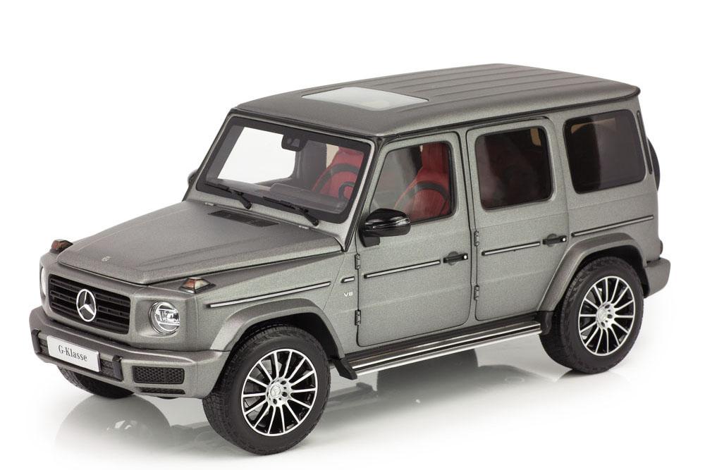 Original Mercedes-Benz G-clase designo platino Magno 1:18