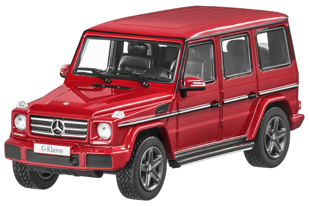 I-Scale B66961018 1 43 MERCEDES W463 G-CLASS 2016 FIRE OPAL rot METALLIC
